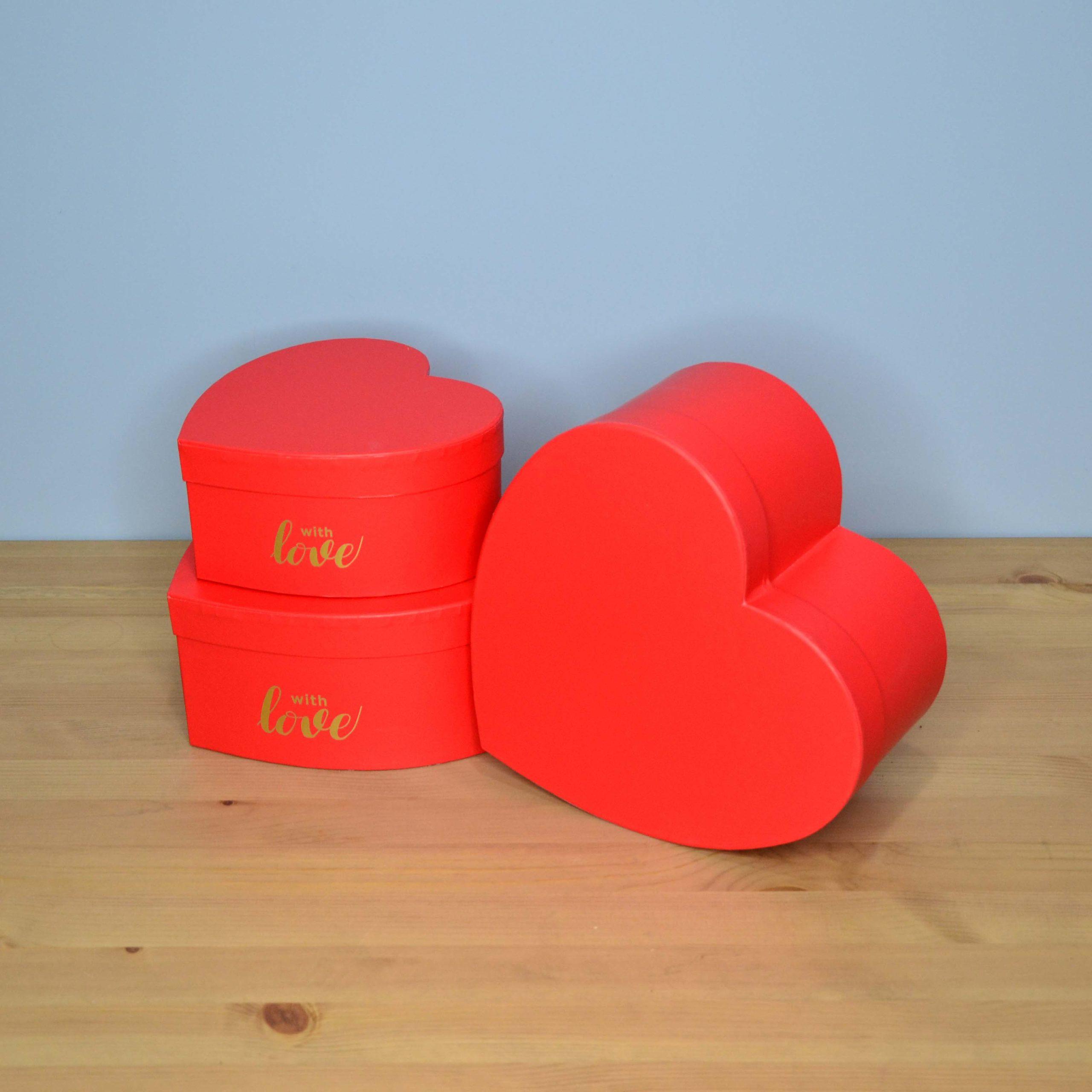 Широкий ассортимент подарочных коробок ко дню всех влюбленных!